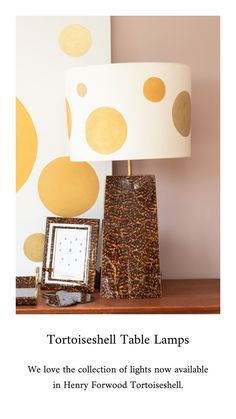Tortoise Shell, Christmas Inspiration, Interior Inspiration, Table Lamp, Colours, Lights, Interior Design, Luxury, Projects