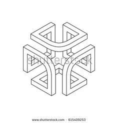 New geometric art design shape geometry 33 Ideas Geometry Art, Sacred Geometry, Impossible Shapes, Muster Tattoos, Geometric Drawing, Geometric Shapes Design, Stoff Design, Math Art, Illusion Art
