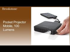 Compact 100-Lumen Pocket Projector Lets You Take the Big Screen with You—Buy Now!