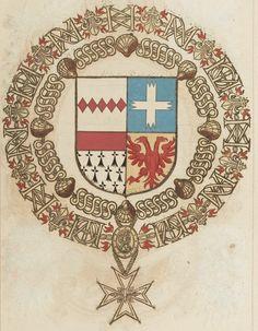 Tout sur l'héraldique : dessin de blasons et d'armoiries: Armorial du Saint-Esprit : Méry de BARBESIERES