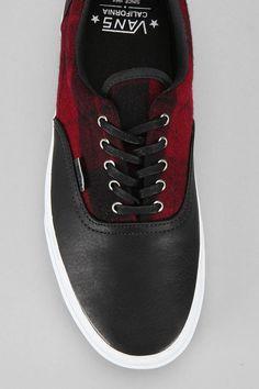 Red & Black Flannel Vans~