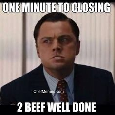 One Minute To Closing!!