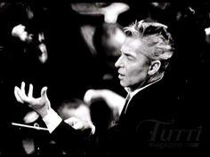 conductor Herbert von Karajan, 1908-1989