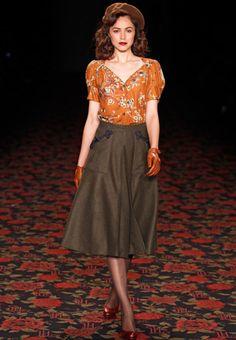 retro fashion <3