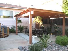 10 Beautiful Patio Designs To Create Yourself To Complete Your Home | Covered Patio Design | #patio_designs #patio_ideas Diy Pergola, Diy Patio, Pergola Kits, Pergola Ideas, Cheap Pergola, Patio Kits, Pergola Carport, Gazebo, Covered Patio Design