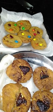 chocolate cookies   Made by truly yours   #virtualTribe  #cravings Chocolate Cookies, Cravings, Muffin, Breakfast, Desserts, Food, Morning Coffee, Tailgate Desserts, Deserts