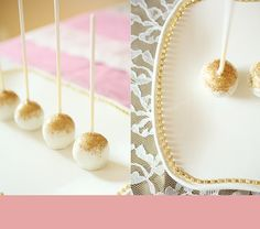 Tiffany Bills Designs: Gold, Lace, & Pearls Party