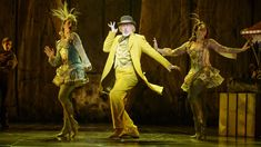 Terrence Mann (center) plays the man in the yellow suit in Tuck Everlasting, directed by Casey Nicholaw, at the Broadhurst Theatre. Theatre Shows, Theatre Nerds, Broadway Theatre, Musical Theatre, Musicals Broadway, Shows In Nyc, New Shows, Tuck Everlasting Cast, Terrence Mann