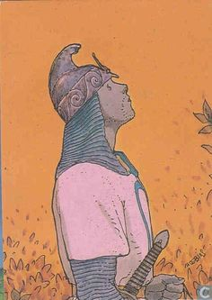 Trading cards - Moebius (collector cards) - Tornoc