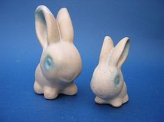 Bourne Denby pottery bunnies