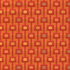 A2812 Persimmon by Greenhouse Design Fabric
