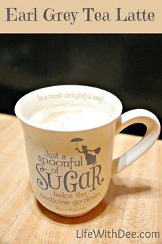 Earl Grey Tea Latte | Life with Dee