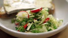 Enjoy a light salad with a slice of buttered Valedon toast from Chef Gabrielle Hamilton. Watch Chef Hamilton on Season 4 of The Mind of a Chef on PBS.