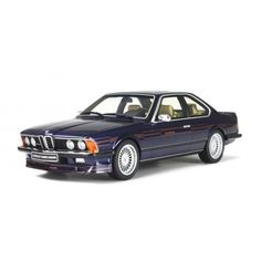 1985 BMW 635 ALPINA B7 COUPE BI-TURBO - ALPINA BLUE METALIC