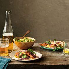 Taco Recipes - Mexican Fiesta Party Recipes - Delish.com    I want to try them all!!!