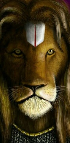 """Deepika.dk's pinboard trails~*~Although very ferocious, the lioness is very kind to her cubs. Similarly, although very ferocious to non-devotees like Hiranyakashipu, Lord Nrisimhadeva is very, very soft and kind to devotees like Prahlada Maharaja."""""""