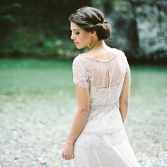 Midsummer Wedding on the River in Berry and Mint