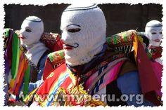 Traditional waq'ollo mask, Peru