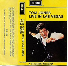Tom Jones Live in Las Vegas Cassette Tape SKC 5032 #PopRock Hard Boy, Twist And Shout, Living In La, Cassette Tape, Pop Rocks, Love And Light, Las Vegas, Toms, Live