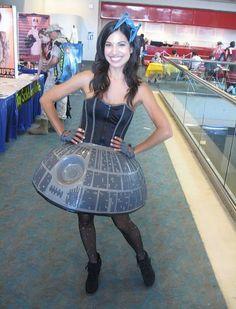 Crafty Cathy / Death Star Dress @Craftzine.com blog