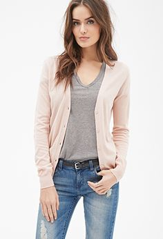 Classic Button-Down Cardigan | FOREVER21 - 2000081393