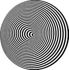 cone moire Optical Illusion - public domain clip art image @ wpclipart ...