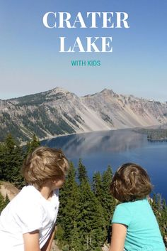 A guide to Crater Lake National Park with Kids.  Read more at:  http://www.pintsizepilot.com/2014/09/29/crater-lake-park-oregon-toddler-kids/