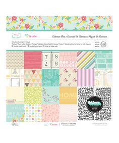Take a look at this 5th & Frolic Collection Paper Set by American Crafts on #zulily today!