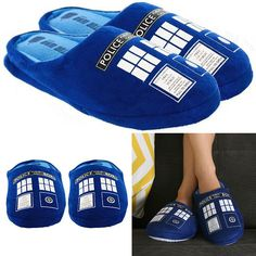 tardis slippers Doctor Who for sale at raggedyfan.com clothing