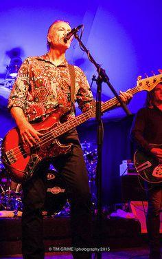 Steve Kilbey - lead singer and bassist for Sydney's alt rock quartet, the Church.