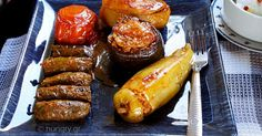 One Pot Stuffed Vegetables, Γεμιστά Κατσαρόλας, Μια Κατσαρόλα Γεμιστά, Γεμιστά στην Κατσαρόλα