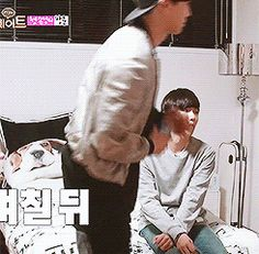 Baek literally saw him fall and was unphased