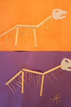 Dinosaur Bones craft