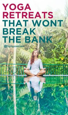 5 Fantastic Yoga Retreats That Won't Break the Bank. Since there are so many amazing-yet-affordable retreats to choose from, we've handpicked a few that might just be the getaway you're looking for. Yoga Meditation, Kundalini Yoga, Ashtanga Yoga, Iyengar Yoga, Meditation Retreat, Yoga Flow, Yoga Hotel, Namaste, Hata Yoga