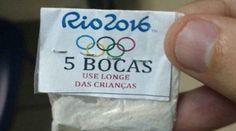 لوگوی المپیک بر روی بستههای کوکائین ضبط شده در ریو
