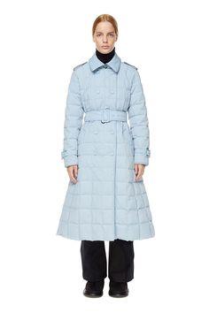 Trench Coat Blue | IENKI IENKI Women's Down Coat Down Parka, Down Coat, Blue Trench Coat, Shearling Coat, Gore Tex, Shop Now, Overalls, Raincoat, Winter Jackets