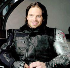 Sebastian Stan behind the scenes of civil war