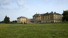 The north Palladian front of Kedleston Hall, Derbyshire--I think I'd like to visit this house the next time I go to England.