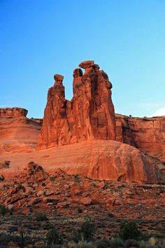 Arches National Park~The Three Gossips~UT