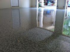 Decorative Concrete Overlay Epoxy Garage Floor Lake Ozark MO Flooring Coating, Osage Beach MO, Sunrise Beach MO