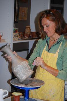 Margaret Barber - an Artist in Action!