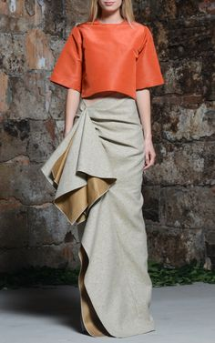Rosie Assoulin Resort 2015 Trunkshow Look 25 on Moda Operandi
