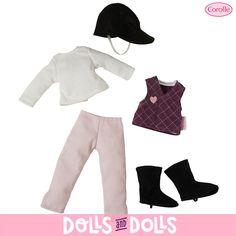 ¿Hay algo más divertido que tener una #muñeca #Corolle? Sí. ¡Vestirla! 🤗  Mira todos los #conjuntos y #accesorios que tenemos para ti. Ya no se fabrican así que ¡corre a por tu favorito antes de que se agote o colecciónalos y crea tus propios #looks! #Dolls #Corolle #Muñecas #LesChéries #Bonecas #Poupées #Bambole