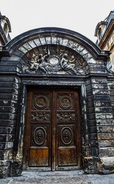 """I would photograph an idea rather than an object, a dream rather than an idea. Portal, Stairs Window, Doorway, Old Doors, Windows And Doors, Royal Doors, Medieval Door, Tuileries Paris, Windows"