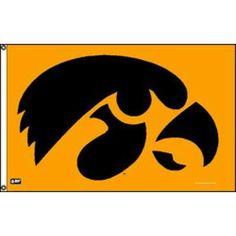 Iowa Hawkeyes NCAA 3'x5' Banner Flag