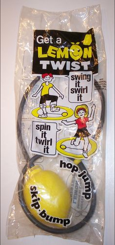Lemon Twist Toy - I had one of these!!