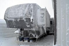 Here is a very good read on winter emergency preparedness from a family stuck in their RV during a blizzard.