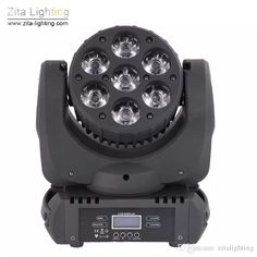 Zita Lighting LED Moving Head Lights Mini Rotating Stage Lighting 7X15W RGBW Wash Beam Lights DMX 512 DJ Disco Private Party Show Effect Moving Head Lights Mini Moving Beam 7X15W LED Moving Head Online with $251.37/Piece on Zitalighting's Store | DHgate.com