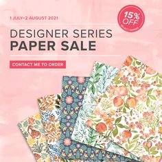 Edith Gonzalez, Stampin Up Anleitung, Fun Crafts, Paper Crafts, August 2nd, July 1, Just Peachy, Tampons, Paper Pumpkin
