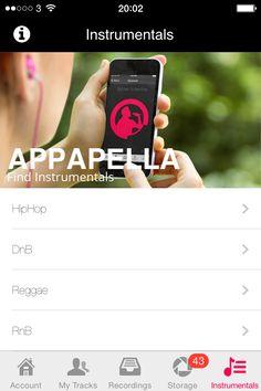 Appapella add instrumentals and lyrics